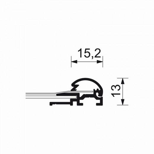 A4-ramme med 15mm aluprofil-04