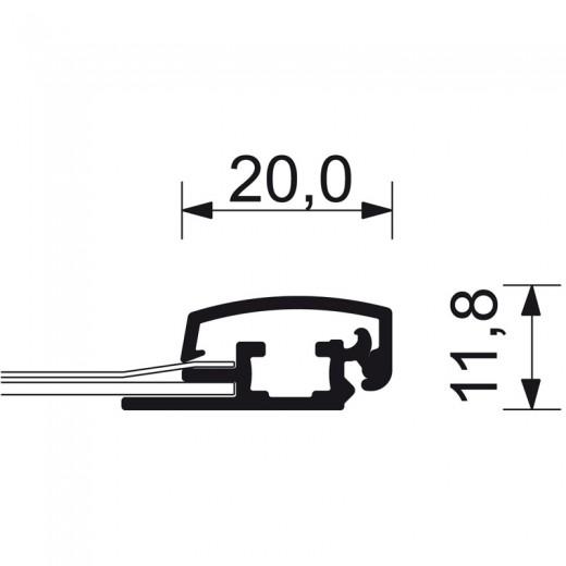 A5-ramme med 20mm aluprofil-01