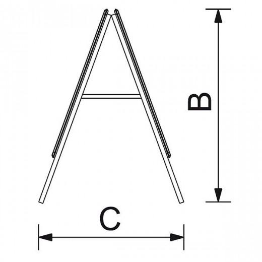 Alu-Line gadeskilt i sort-01