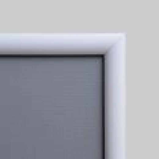 60x80 cm ramme med 25mm farvet profil, hvid-01