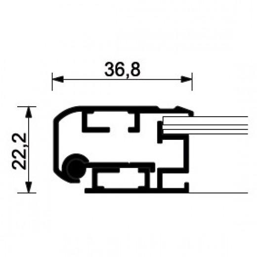 A2 ramme med lås-01