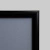 A0-ramme med 25mm farvet profil, sort-01